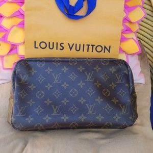 Authentic Louis Vuitton cosmetic bag
